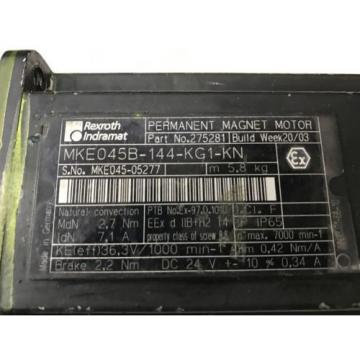 Rexroth Mexico France MKE045B-144-KG1-KN