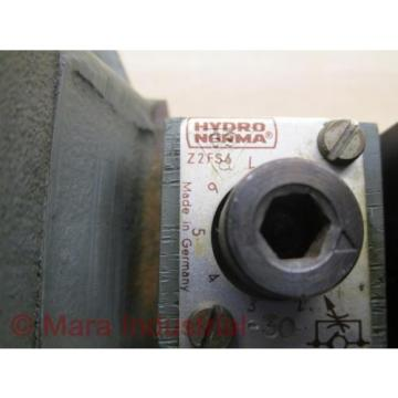 Rexroth Greece Italy H 4 WEH 16D 30/6AG24 NSZ4 Directional Control Valve - Used
