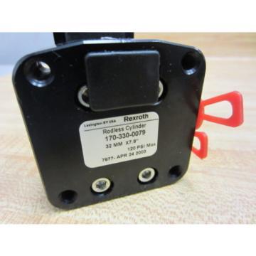 Rexroth Singapore France Bosch 170-330-0079 LINEAR ACTUATOR 7877 - New No Box