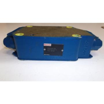REXROTH Canada India HYDRAULIC VALVE R900456783  *USED*
