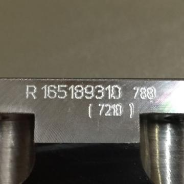 NEW China USA REXROTH LINEAR RUNNER BLOCK PN# R165189310