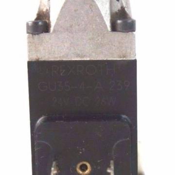 REXROTH France Italy 4WE6E51/AG24NZ45V CONTROL VALVE W/ GU35-4-A-239 COILS
