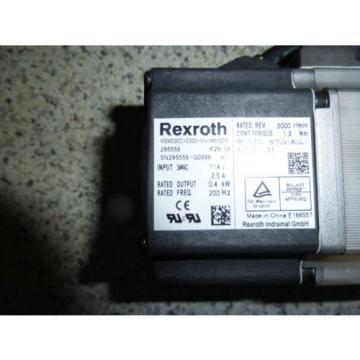Rexroth Canada Russia Bosch MSM030C-0300-NN-M0-CG0 Servo motor