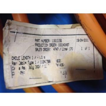 REXROTH Singapore Japan INDRAMAT INK0602 SERVO CABLE IKG4067 40 METER 11610156 USED (B28)