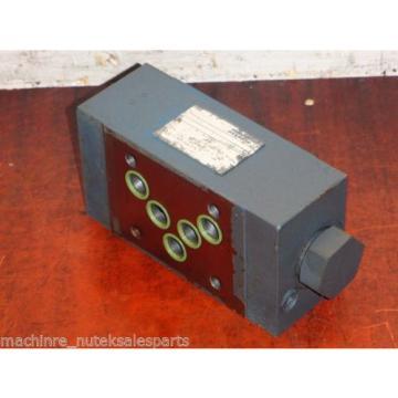 Rexroth Singapore Mexico Flow Control Valve Z2SRK 10-1-11/V _ Z2SRK10111V