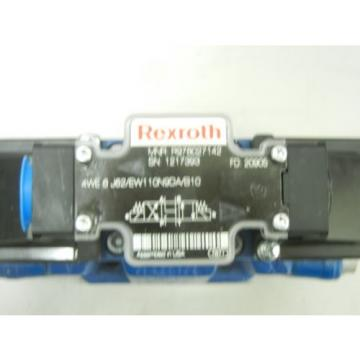 REXROTH USA Germany 4WEH10E47/6EW110N9TDA/B10 NEW HYDRAULIC VALVE 4WEH10E476EW110N9TDAB10