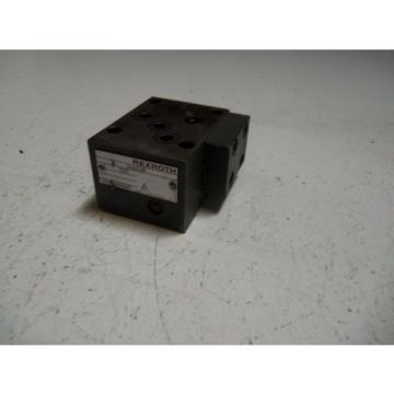REXROTH China Dutch 306538-C25 *USED*
