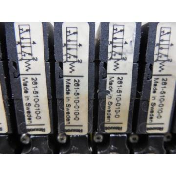 USED Egypt Italy Bosch Rexroth R404009097 05W09 Valve Terminal System Module 261-510-010-0
