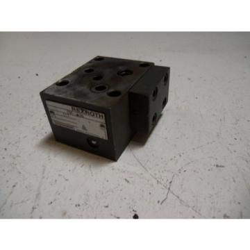 REXROTH Germany Germany 306536-C17 *USED*