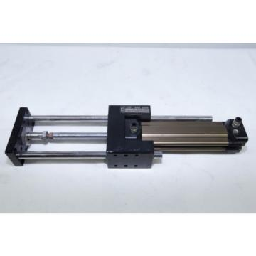 Rexroth France USA Pneumatic Cylinder Air Ram 32mm Bore 100mm Stroke Linear bearing slides