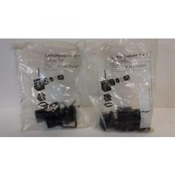 LOT Dutch Italy OF (2) NEW OLD STOCK! BOSCH REXROTH CONNECTOR KITS DIN-43-650 1-834-484-057