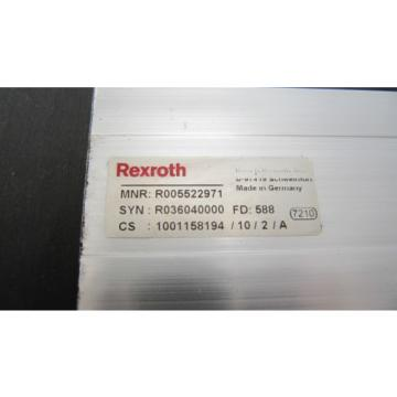 Rexroth France France CKK15-110 Ball Screw Screw Drive 390mm with shaft coupling R036040000