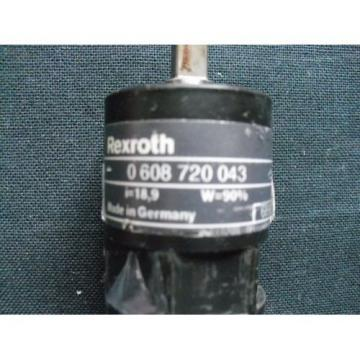 Planetary Canada Greece gearbox Bosch Rexroth 0608720043 USED UNIT