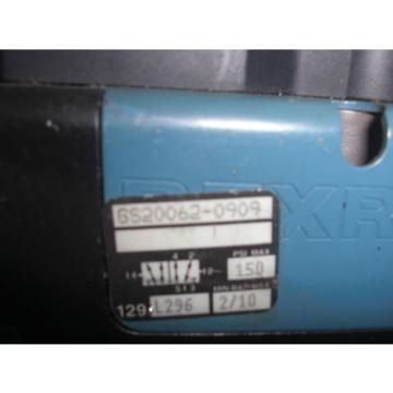 REXROTH France India CERAM GS20062-0909 PNEUMATIC SOLENOID VALVE *USED*