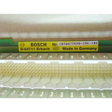 Rexroth Japan Canada  1070077630-IND-102 Stecker - Board >ungebraucht<