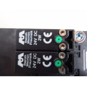 REXROTH Germany Canada BOSCH 261-208-120-0, 24VDC PNEUMATIC VALVE 2612081200