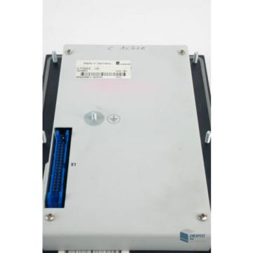 Rexroth China Canada Indramat CTA04.1B Bedienfeld Bedienteil Control Panel Operator Panel