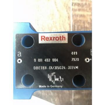 Rexroth Mexico Japan DBETBX-1X/315G24-37Z4M Propventil