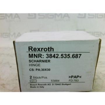 Rexroth Canada Dutch 3842.535.687 Scharnier Hinge New