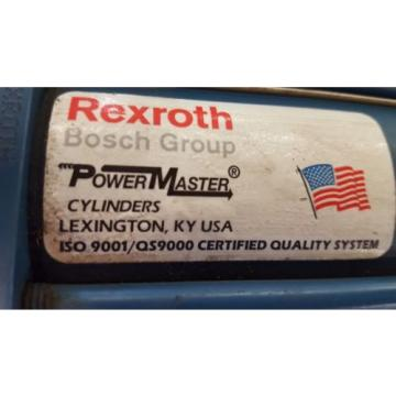 "REXROTH Germany china BOSCH CYLINDER, PC P408376-0428, MS2-PP, 2 X 42"", 250 PSI"