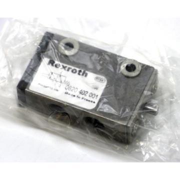 "REXROTH India Canada Wegeventil 0820402001 Ventil Valve   IG: 1/8""   NEU"