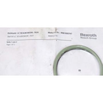 NEW India Mexico REXROTH R961000747 SEAL KIT LC 50 A/B/DB/DR.-7X/V