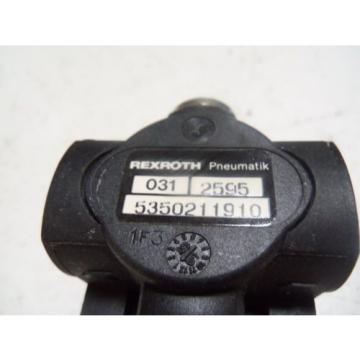 REXROTH Greece Singapore 031-2295 REGULATOR *NEW IN BOX*