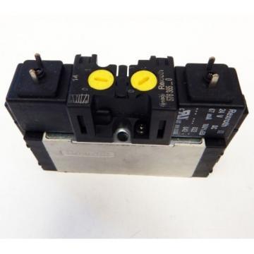 Rexroth Canada Russia 576 365...0 Pneumatik Magnetventil 5/2 Wege 24V DC  - used -