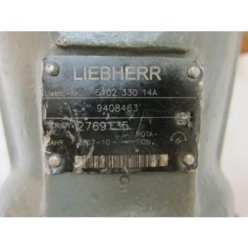 Rexroth Greece Korea Liebherr A2FM63/61W-VAB010 9408463 Hydraulic Motor 5102 330 14A