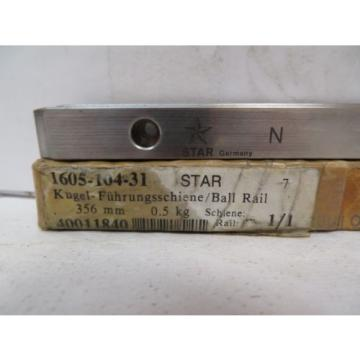 NEW France china REXROTH STAR LINEAR BEARING RAIL 1605-104-31 356MM 40011840
