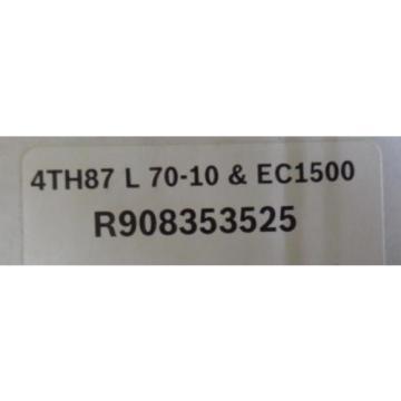 NEW Egypt Australia BOSCH REXROTH 4TH87 L 70-10 EC1500 R908353525 NIB