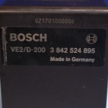 BOSCH Mexico Korea REXROTH VE2/D-200 PNEUMATIC STOP GATE, 3 842 524 895