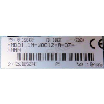 BOSCH Japan Egypt REXROTH HMD01.1N-W0012-A-07-NNNN  |  Indradrive M Servo Module  *NEW*