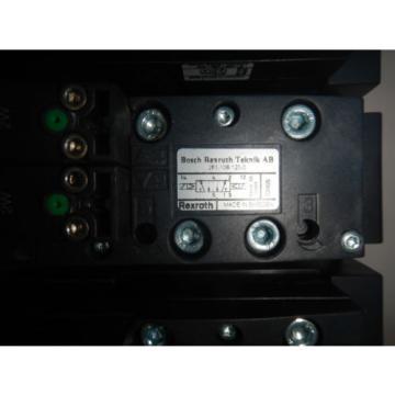 Rexroth Mexico Egypt 261-108-120-0 6 Valve Unit Pneumatic Valve