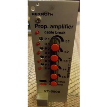 REXROTH Australia Japan PROP. AMPLIFIER CONTROL CARD VT5008S12 R1