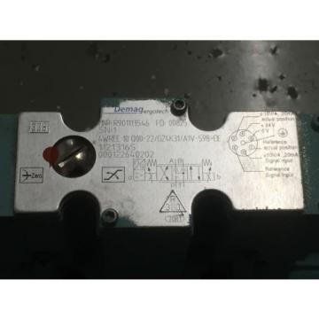 Rexroth Australia India  4WREE10Q00-22/G24K31/A1V-598=DE