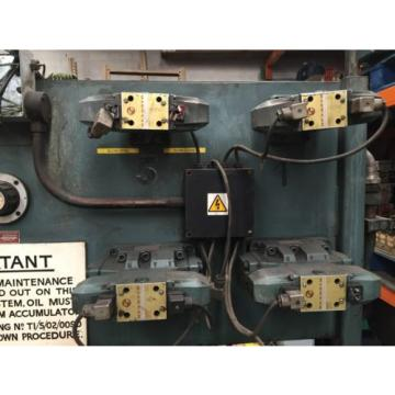 Large Italy china Rexroth hydraulic power pack Dual Motor 18.5kW 2000mm 850mm Tank 2m