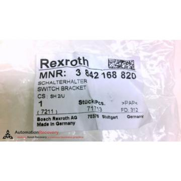 REXROTH Singapore Greece 3 842 168 820, PROX SWITCH SENSOR BRACKET, NEW #208244
