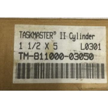 "REXROTH China USA Taskmaster TM-811000-03050  1 1/2"" x 5"" Pneumatic Cylinder"