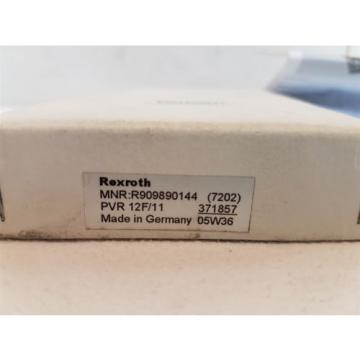 Rexroth Germany Korea R909890144 Amplifier Card Module PVR-12F/11 371857 New