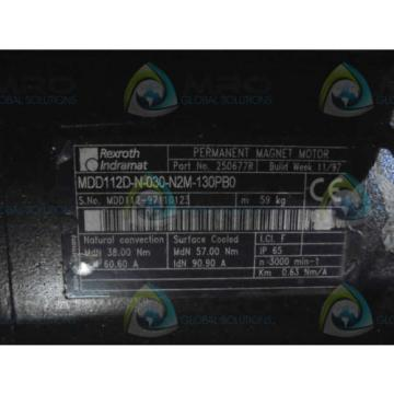REXROTH Korea Italy INDRAMAT MDD112D-N-030-N2M-130PB0 *NEW IN BOX*