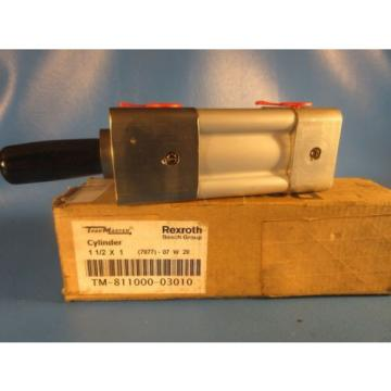 "Rexroth China Russia TM-811000-03010, 1-1/2x1 Task Master Cylinder, 1-1/2"" Bore x 1"" Stroke"