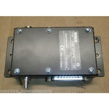 BOSCH Canada Italy / REXROTH 3 607 021 015 SUPPRESSION MODULE 3-607-021-015 _ 3607021015
