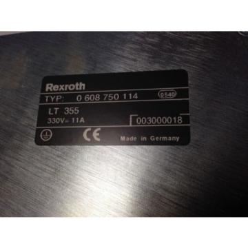 NEW Germany Italy REXROTH/BOSCH 0 608 750 114 TIGHTENING SYSTEM 350 POWER SUPPLY, LT355 FI