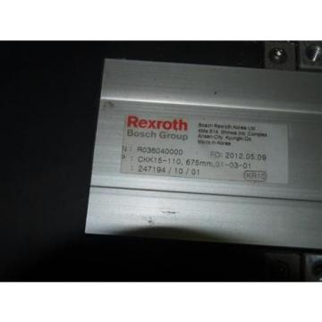 Rexroth France Dutch R036040000 CKK15-110 Slide Module