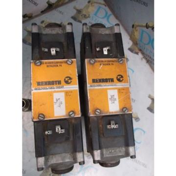 REXROTH Mexico Germany 4WE10G21/AW110NZ4V 4 WAY SOLENOID VALVES WITH MANIFOLD ASSEMBLY