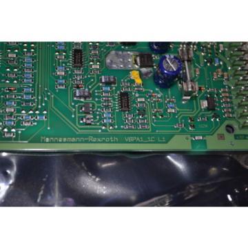 Mannesmann USA Egypt Rexroth electronic card VSPA1-1C L1 00033823