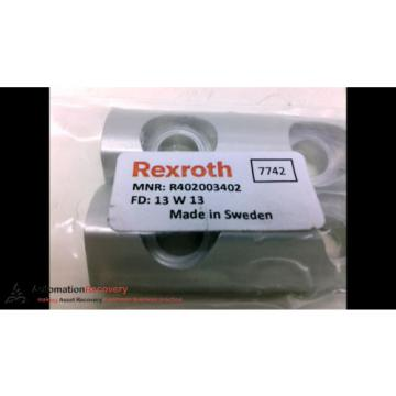 REXROTH Egypt Russia R402003402 CLAMPING PIECE KIT RTC M8, NEW