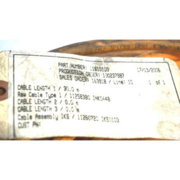 NEW France USA REXROTH IKS0103 ENCODER CABLE 30M 11610150