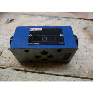 REXROTH Canada Australia Z2S 6-1-64/V HYDRAULIC VALVE R900347504